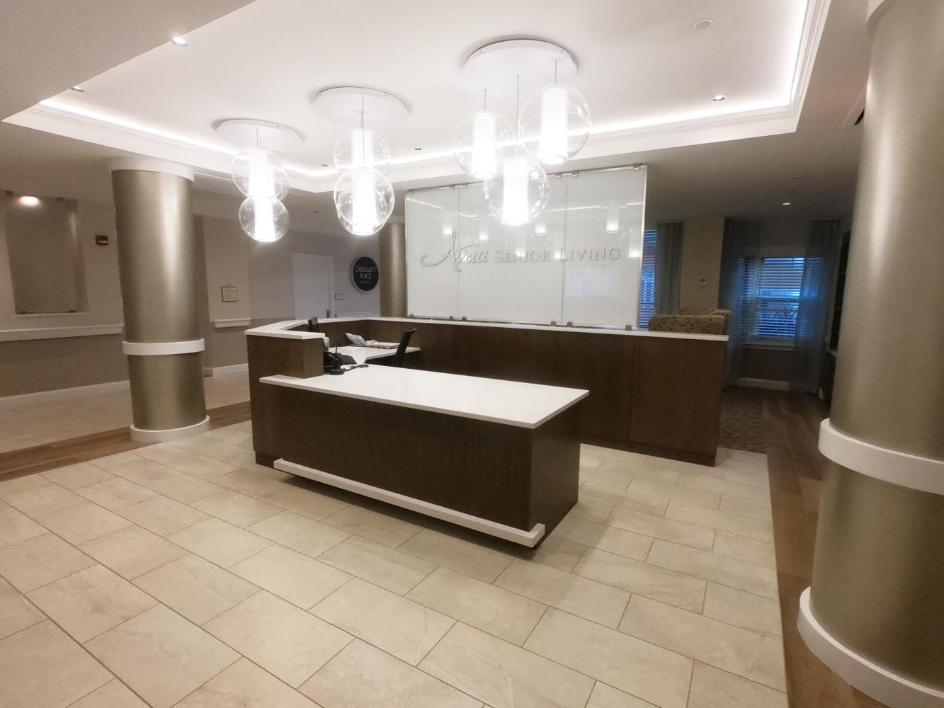 Nassau atria, reception area 1