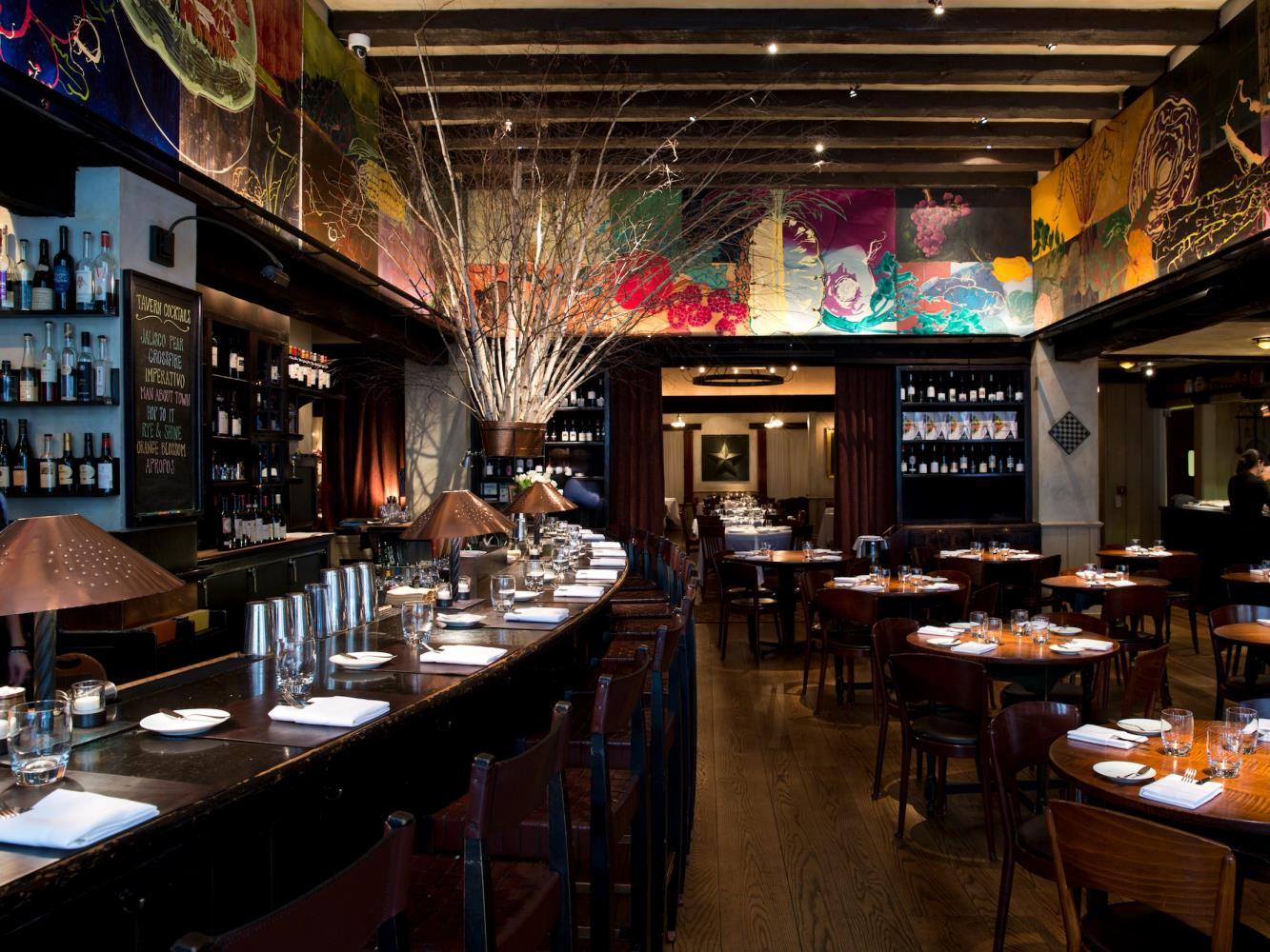 Gramercy Tavern, bar and dining area