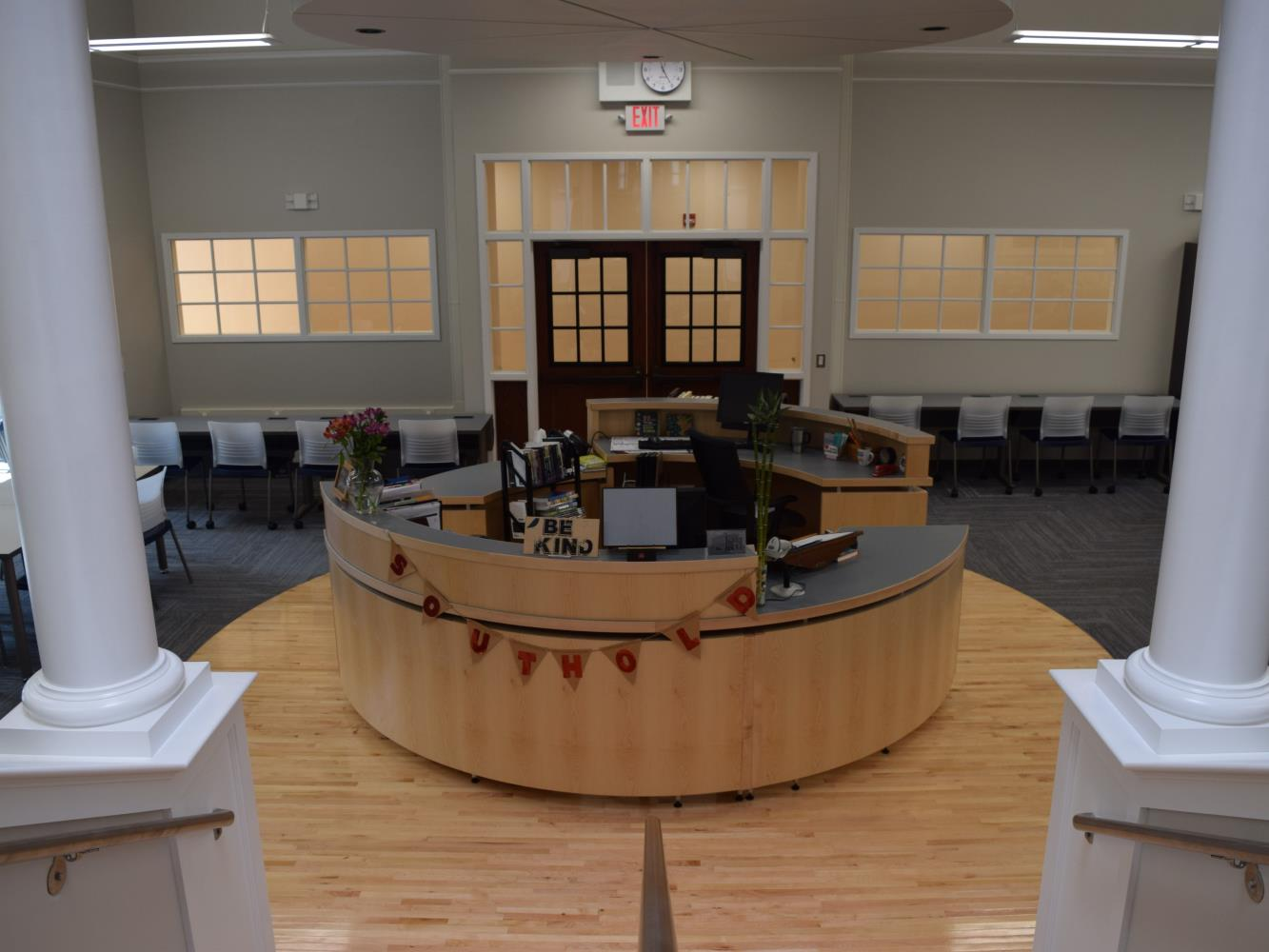 High School Library Front Desk