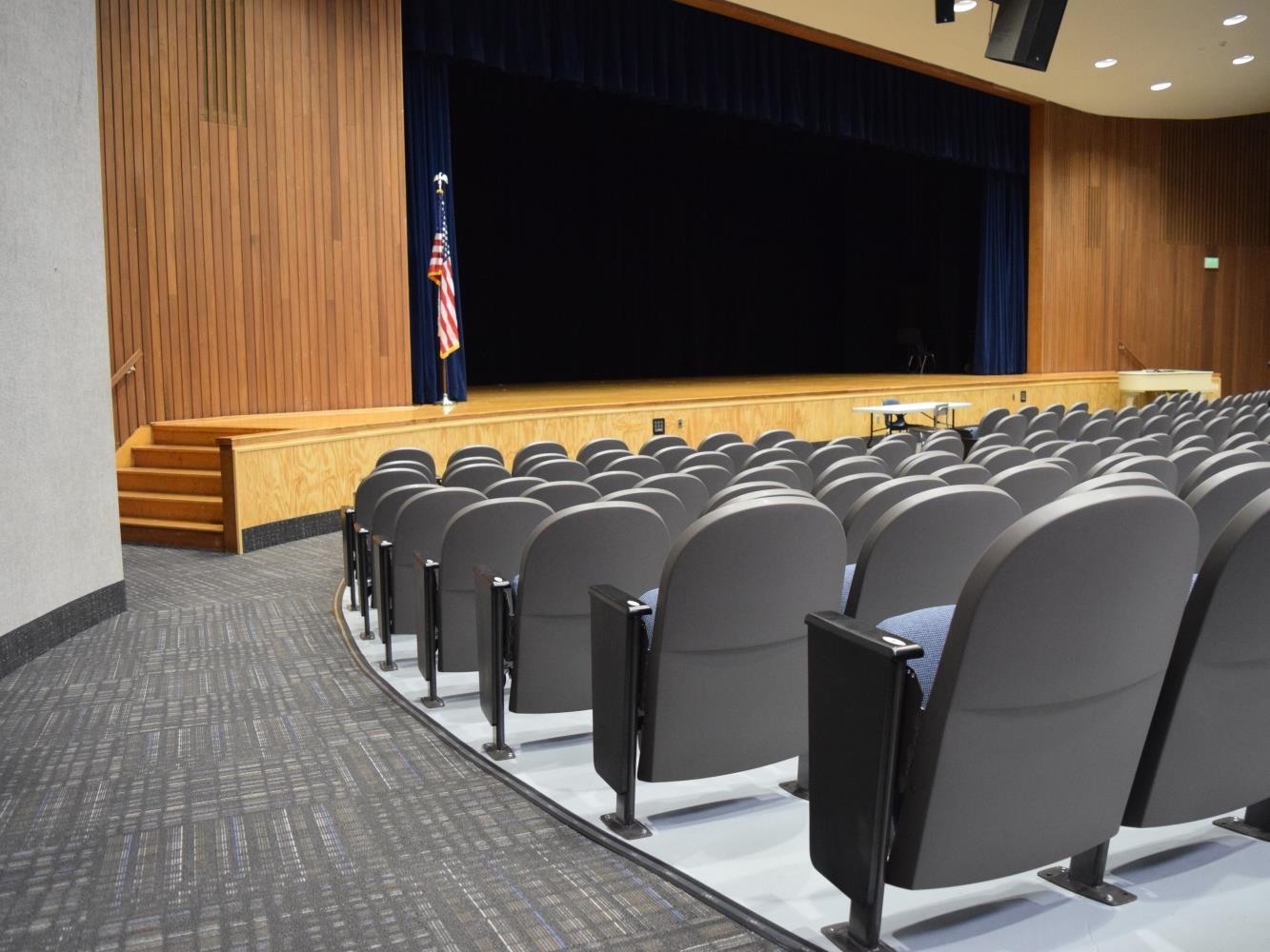 High School Auditorium Stage