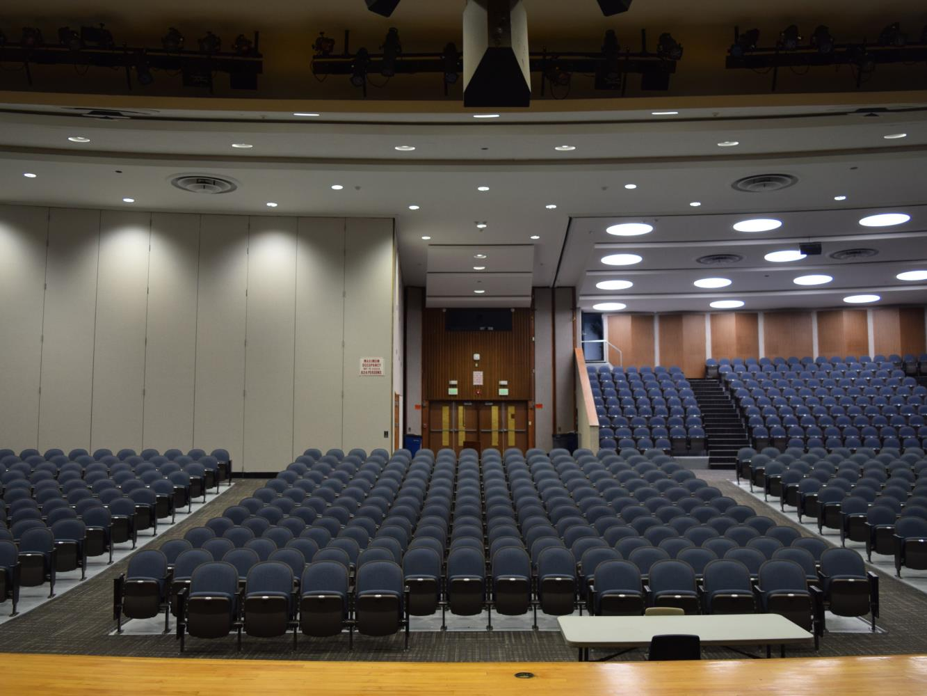 High School Auditorium Stage 2