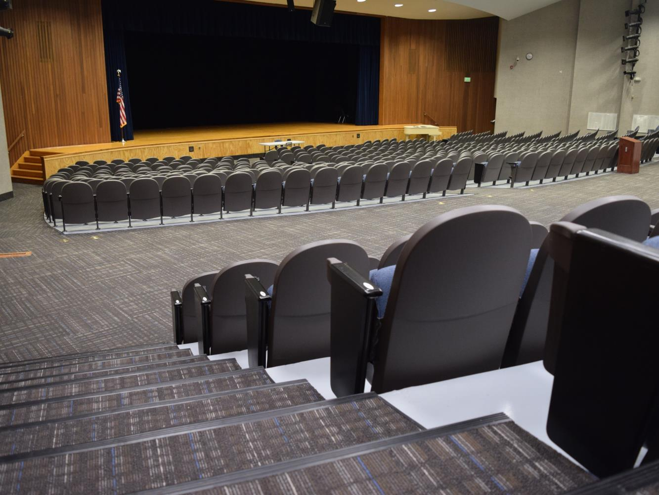 High School Auditorium Stage 10